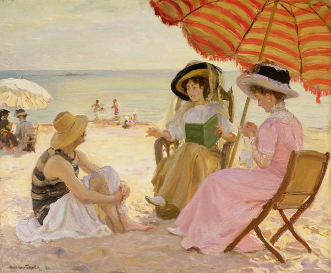 the-beach-alfred-victor-fournier 1929