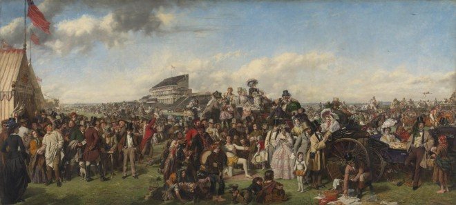 The Derby Day 1856-8 by William Powell Frith 1819-1909