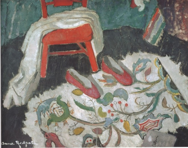 Edinburgh Anne Redpath 'The Indian Rug (Red Slippers)' 1942