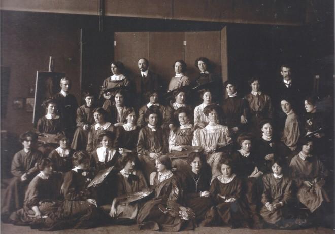 Robert Burns with Edinburgh College of Art students