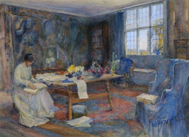 W158_May_Morris_in_tapestry_room