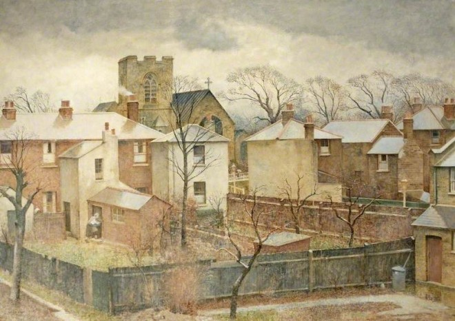 Bush, Harry, 1883-1957; Wet Roofs