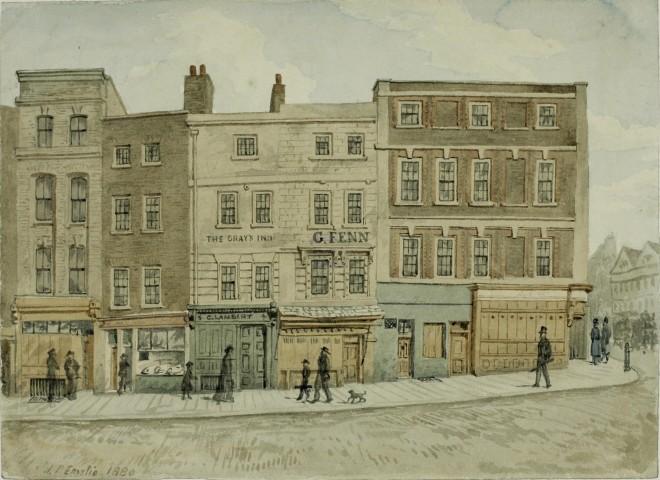 grays inn road from antique shop's website