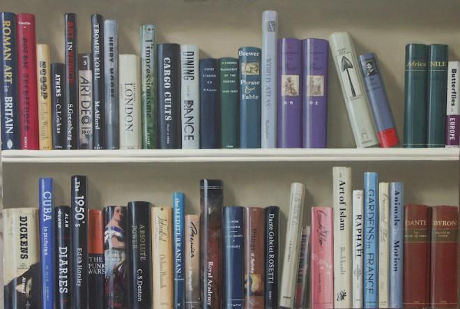 Trompe-LOeil-Bookshelf