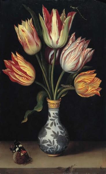 ambrosius bosschaert tulips a wan-li vase c 1619