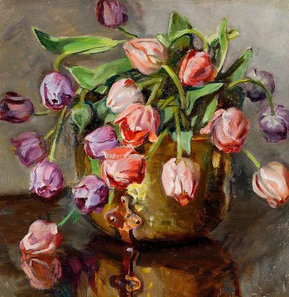 Mead, Rose, 1867-1946; Tulips